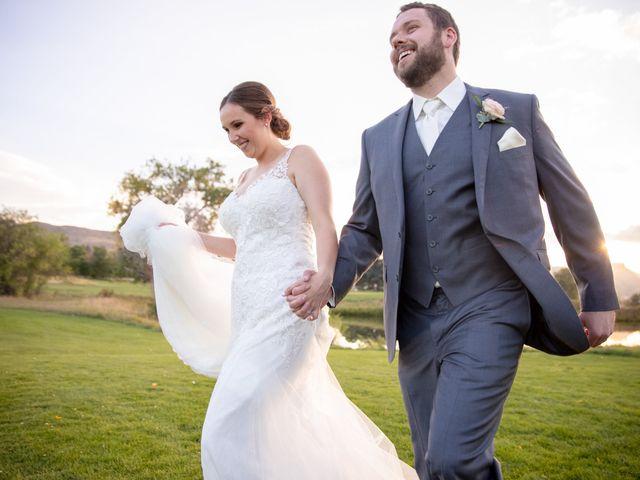 Adam and Allison's Wedding in Golden, Colorado 32