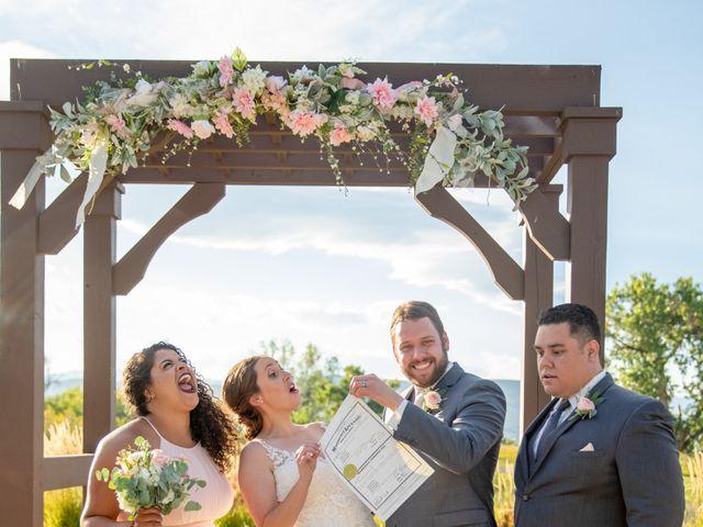 Adam and Allison's Wedding in Golden, Colorado 41