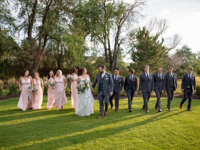 Adam and Allison's Wedding in Golden, Colorado 42