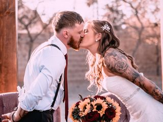 The wedding of Autum and Derrick