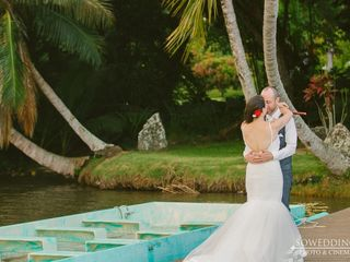 Alisia and Jim's Wedding in Kaneohe, Hawaii 6