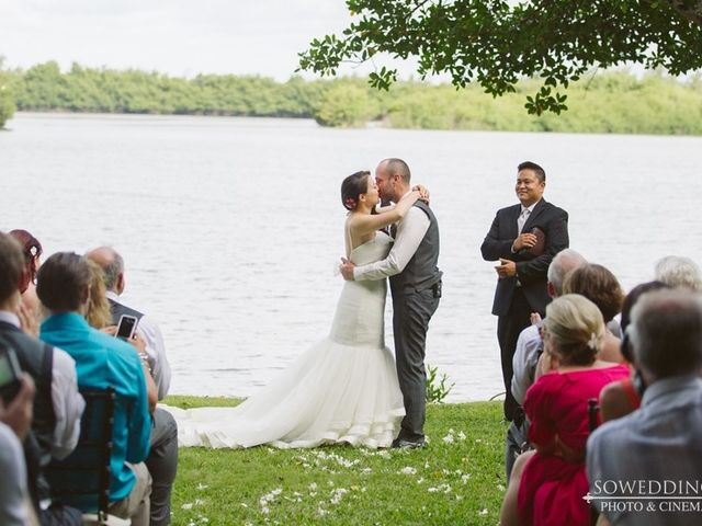 Alisia and Jim's Wedding in Kaneohe, Hawaii 10