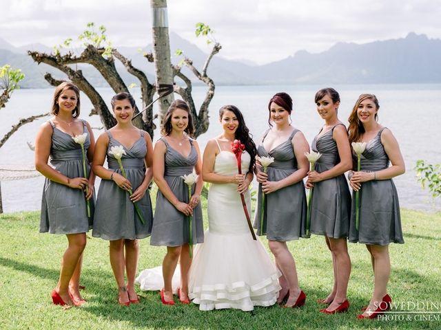 Alisia and Jim's Wedding in Kaneohe, Hawaii 4