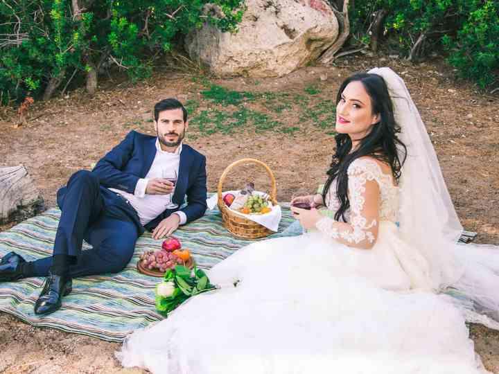 The wedding of Giota and Nikos