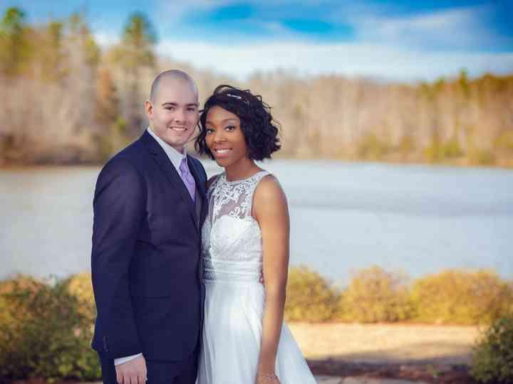 The wedding of Olivia and Warren