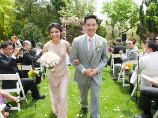 The wedding of Tara and Yong