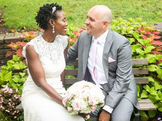 The wedding of Collette and Philip