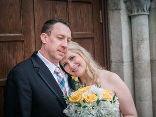 The wedding of Elisabeth and Cory