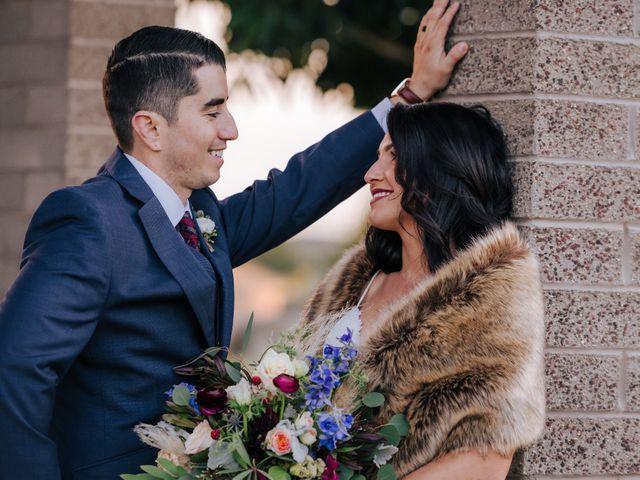 The wedding of Samantha and Blake