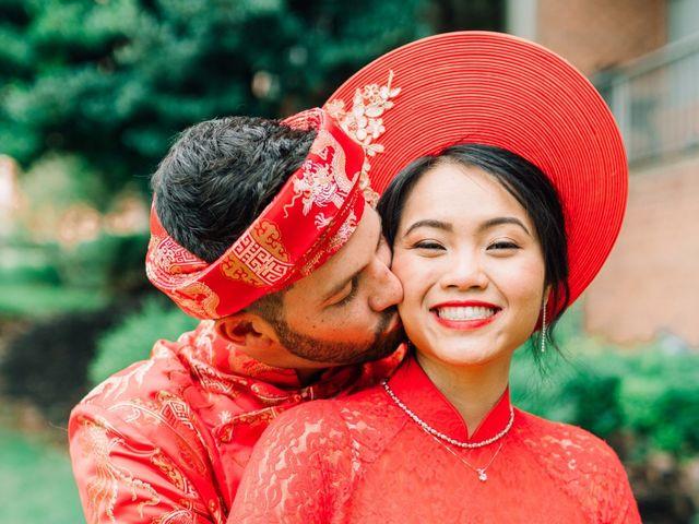 Quyen and Brandon's Wedding in Fairfax, Virginia 14