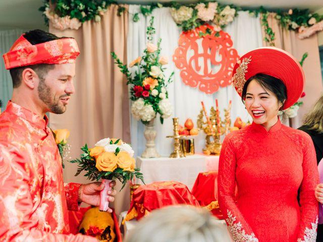Quyen and Brandon's Wedding in Fairfax, Virginia 16