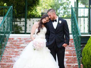 The wedding of Corey and Sarah