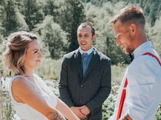 The wedding of Justine and Jason 1