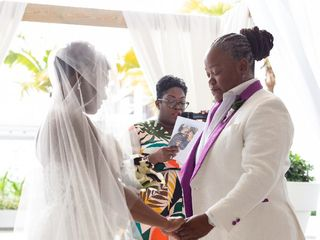 The wedding of Kenya and Antoria 2