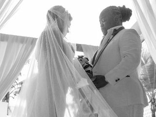 The wedding of Kenya and Antoria 3