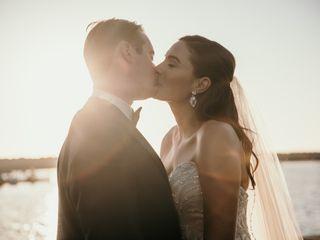 The wedding of Rebecca and Matthew