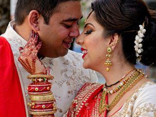 The wedding of Pooja and Mahul