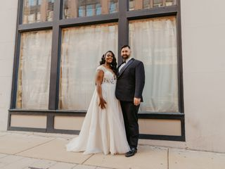 The wedding of Tim and Raphielle