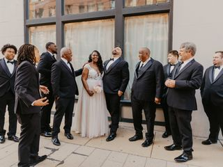 The wedding of Tim and Raphielle 2