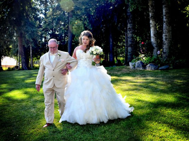 Chad and Rebeca's Wedding in Sandpoint, Idaho 3