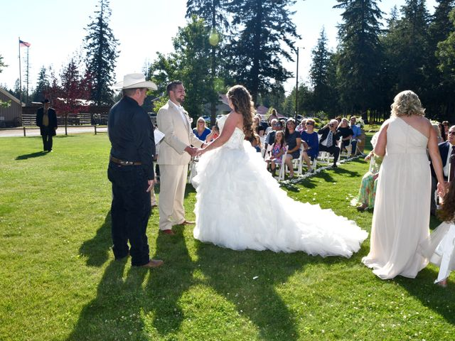 Chad and Rebeca's Wedding in Sandpoint, Idaho 6