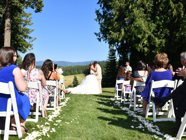 Chad and Rebeca's Wedding in Sandpoint, Idaho 7