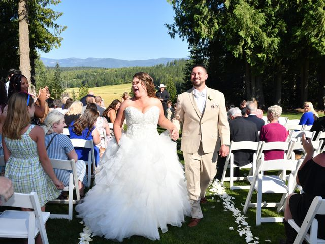 Chad and Rebeca's Wedding in Sandpoint, Idaho 8