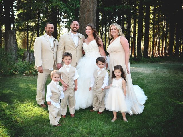 Chad and Rebeca's Wedding in Sandpoint, Idaho 11