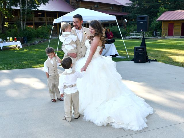 Chad and Rebeca's Wedding in Sandpoint, Idaho 14