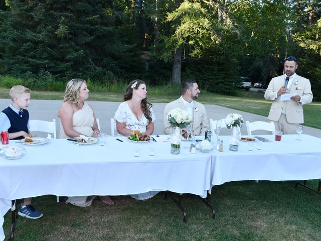 Chad and Rebeca's Wedding in Sandpoint, Idaho 20