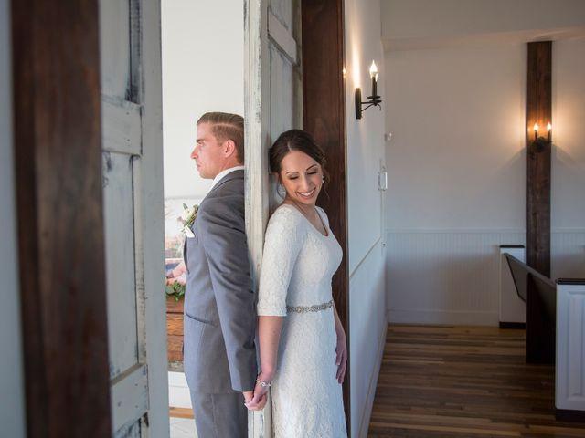 The wedding of Alexandra and Nathan
