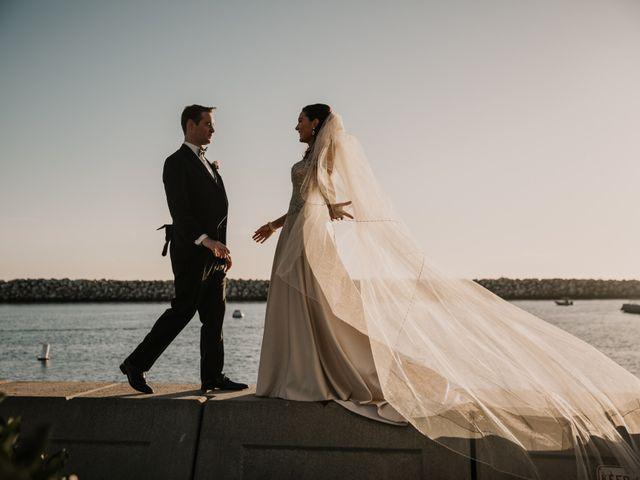 Matthew and Rebecca's Wedding in Redondo Beach, California 62