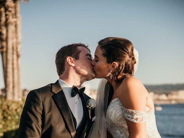 Matthew and Rebecca's Wedding in Redondo Beach, California 65