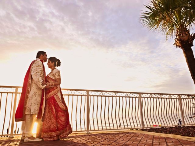 The wedding of Pooja and Mahul