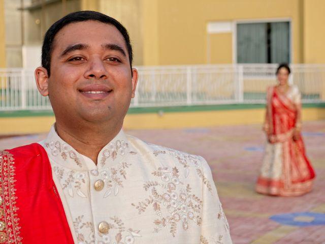 Mahul and Pooja's Wedding in Daytona Beach, Florida 9