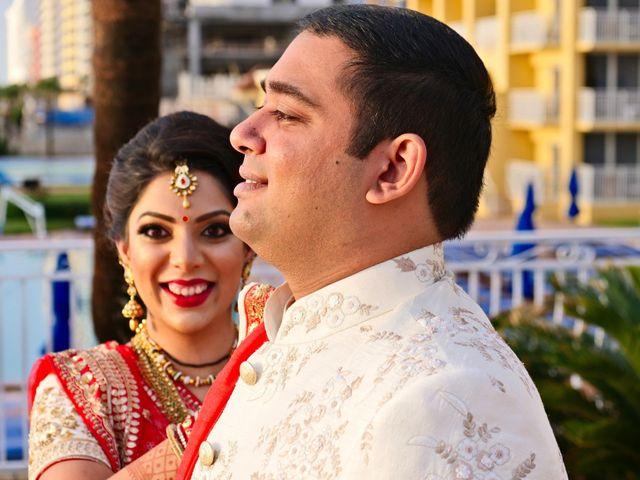 Mahul and Pooja's Wedding in Daytona Beach, Florida 10