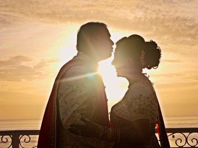 Mahul and Pooja's Wedding in Daytona Beach, Florida 11
