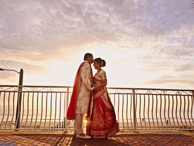 Mahul and Pooja's Wedding in Daytona Beach, Florida 18
