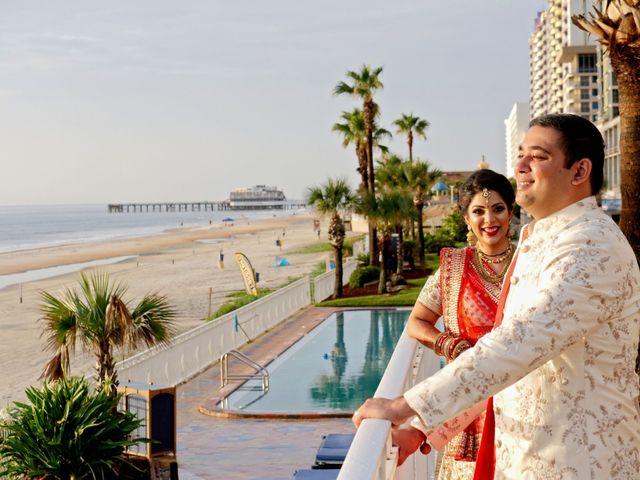 Mahul and Pooja's Wedding in Daytona Beach, Florida 22