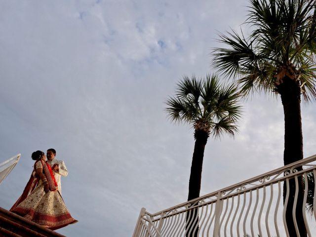 Mahul and Pooja's Wedding in Daytona Beach, Florida 24