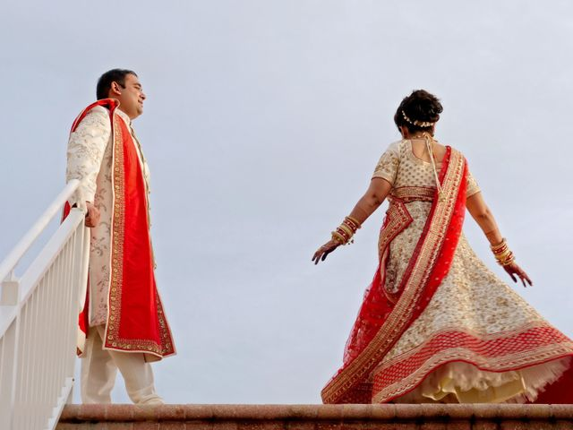 Mahul and Pooja's Wedding in Daytona Beach, Florida 25