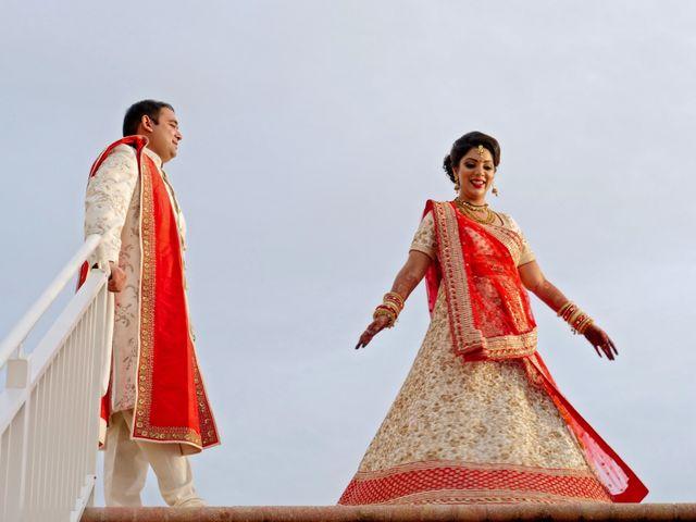 Mahul and Pooja's Wedding in Daytona Beach, Florida 26
