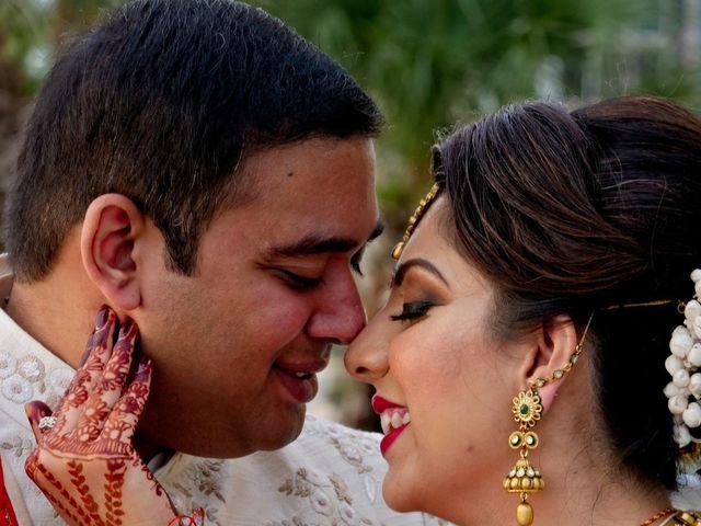 Mahul and Pooja's Wedding in Daytona Beach, Florida 27