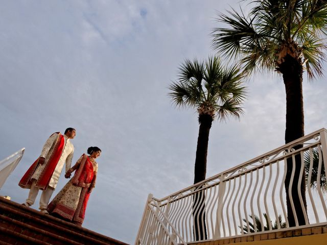 Mahul and Pooja's Wedding in Daytona Beach, Florida 28