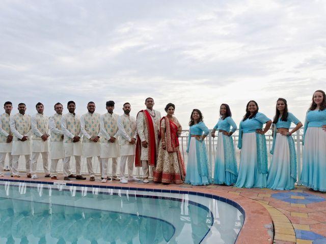 Mahul and Pooja's Wedding in Daytona Beach, Florida 34