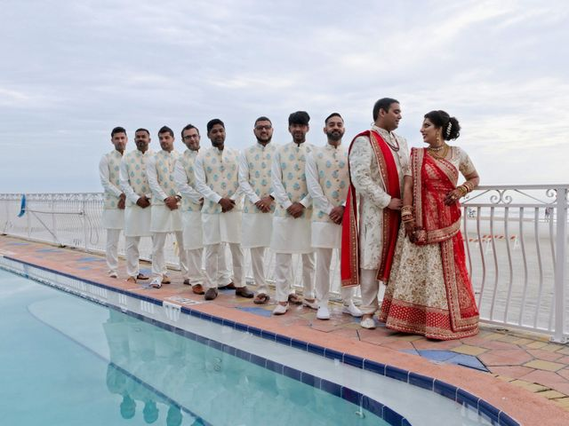 Mahul and Pooja's Wedding in Daytona Beach, Florida 35