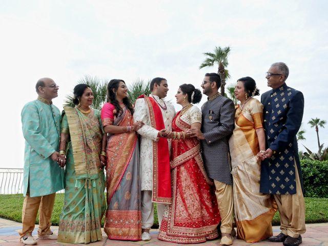 Mahul and Pooja's Wedding in Daytona Beach, Florida 37