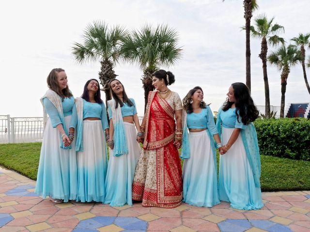Mahul and Pooja's Wedding in Daytona Beach, Florida 38