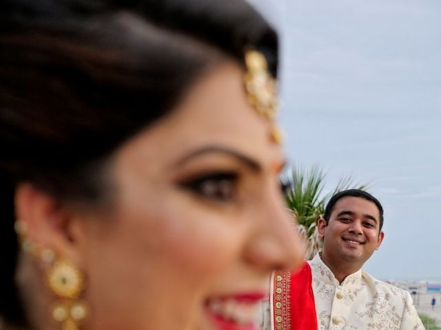 Mahul and Pooja's Wedding in Daytona Beach, Florida 46