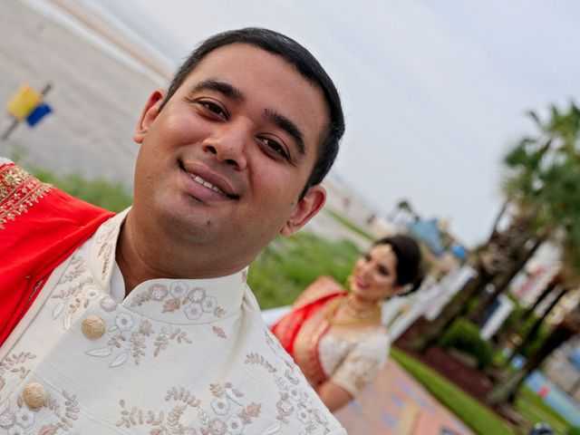 Mahul and Pooja's Wedding in Daytona Beach, Florida 49